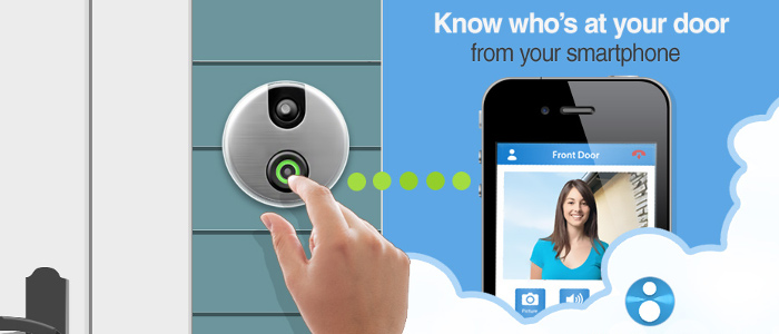SKYBELL Alarm.com Video Doorbell Camera