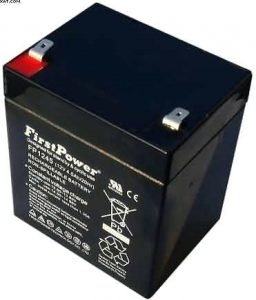 Alarm System Backup Battery 12v 4ah FP1245