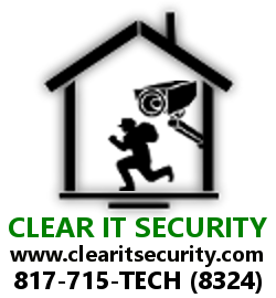 CLEAR IT SECURITY LOGO with WWW and Phone # 250x270