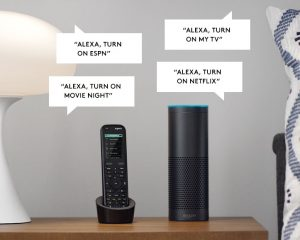 CLEAR IT SECURITY Universal Remote Control Solutions that work with Alexa!
