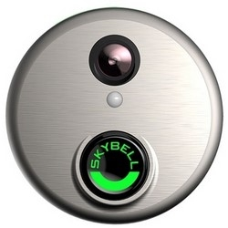ALARM.COM SkyBell Wi-Fi Doorbell Camera (satin nickel color) ADC-VDB101
