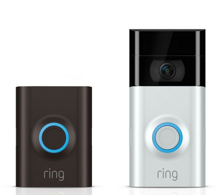 ring Video Doorbell 2 (Oil-Rubbed Bronze or Satin Nickle color)