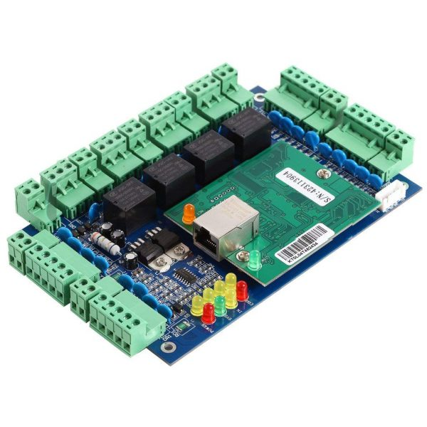 Access Control Panel Board and Network Card inside box