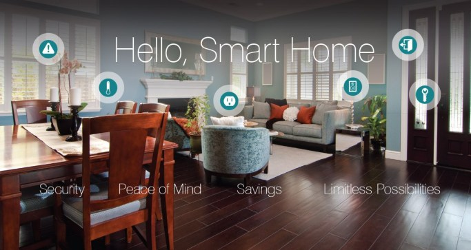 Hello Smart Home Peace of Mind Savings Limitless Possibilities